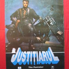 Afis cinema vechi Justitiarul, afis film The Punisher