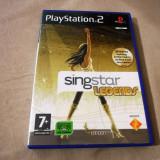 Joc Singstar Legends, PS2, original, alte sute de jocuri!