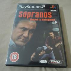 Joc The Sopranos Road to Respect, PS2, original, alte sute de jocuri!, Actiune, 18+, Single player, Thq