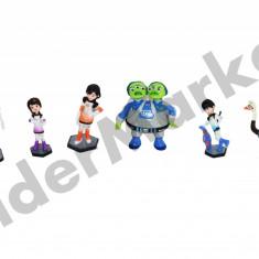 Set 6 figurine Miles - colectioneaza toate personajele ! - Figurina Desene animate