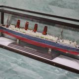 MACHETA NAVALA-NAVA  RMS LUSITANIA.D=78X27CM.