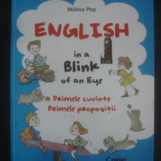 MALINA POP - ENGLISH IN A BLINK OF AN EYE {ilustratii color}