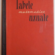 TABELE MATEMATICE UZUALE, EDITIA A III A, 1965 - Carte Matematica