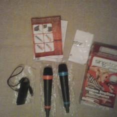 Microfoane SINGSTAR Wireless pt PS3 si PS2 PlayStation  ( GameLand )