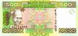 GUINEA █ bancnota █ 500 Francs █ 2012 █ P-39b █ UNC █ necirculata