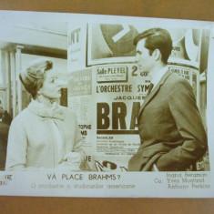Ingrid Bergman Anthony Perkins Va place Brahms ? 1961  foto Romaniafilm, Bucuresti, Necirculata, Fotografie