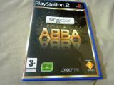 Joc Singstar ABBA, PS2, original, alte sute de jocuri!, Simulatoare, 12+, Single player, Sony