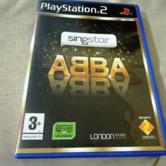 Joc Singstar ABBA, PS2, original, alte sute de jocuri! - Jocuri PS2 Sony, Simulatoare, 12+, Single player