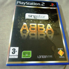 Joc Singstar ABBA, PS2, original, alte sute de jocuri! - Jocuri PS2 Sony, Simulatoare, 12+, Single player