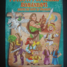 POVESTI POPULARE ROMANESTI - CARTE DE CITIT SI COLORAT {ilustratii color} - Carte de povesti