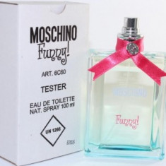 Parfum Tester Moschino Funny - Parfum femeie Moschino, Apa de toaleta, 100 ml