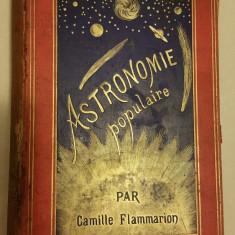 ASTRONOMIE POPULAIRE PAR CAMILLE FLAMMARION