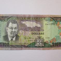 JAMAICA 100 DOLLARS 1994 - bancnota america