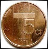 OLANDA / BEATRIX , 5 CENTS 1993 , MONETARIA UTRECHT, Europa, Cupru (arama)