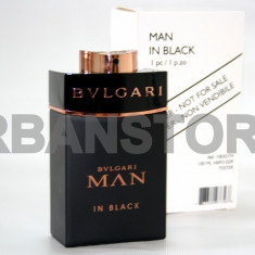 Parfum Tester Bvlgari Man In Black + LIVRARE GRATUITA! - Parfum barbati Bvlgari, Apa de parfum, 100 ml, Lemnos