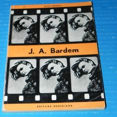 J A Bardem - Alice Manoiu - colectia biblioteca cinefilului (09605 - Carte Cinematografie