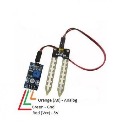 Senzor Umiditate Sol Higrometru Pentru Arduino Pic Avr Arm