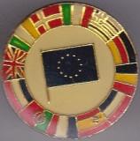 Insigna Uniunea Europeana cu tarile membre
