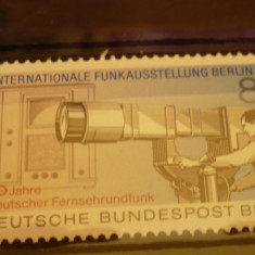 GERMANIA (BERLIN) 1985 – CAMERA DE FILMAT, timbru nestampilat GD52 - Timbre straine