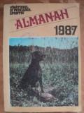 ALMANAH VANATORUL SI PESCARUL SPORTIV - ANUL 1987