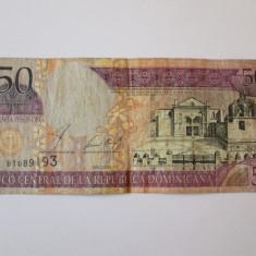 REP.DOMINICANA 50 PESOS ORO 2002