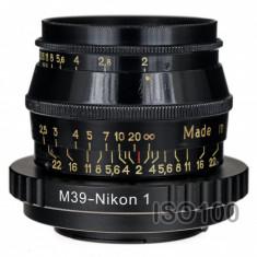 Adaptor Nikon 1 - Leica m39 - Adaptor aparat foto