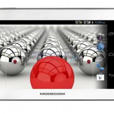 Tableta Modecom 7'', FreeTAB 7003, HD+, X2, 3G+, 4GB, alb / gri, 7 inch, Wi-Fi + 3G, Android