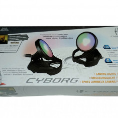 Lumini gaming Cyborg amBX gaming Lights