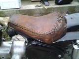 Chopper / saua piele / moto vintage