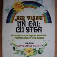 AM VISAT UN CAL CU STEA - GEORGE DERIETEANU - carte de cantece pentru copii