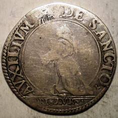 G.079 ITALIA PESARO URBINO FRANCESCO MARIA II 1574 1624 GIULIO ARGINT 3, 05g - Moneda Medievala, Europa