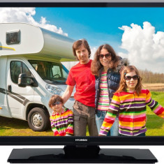 Televizor LED Hyundai HL20351DVD, 20 inch, 1366 x 768 px, DVD player integrat, adaptor 12V, HD Ready