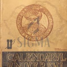CALENDARUL UNIVERSUL ( COPERTA MAC CONSTANTINESCU ) 1944