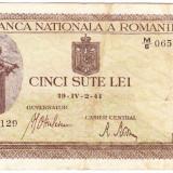 Bancnota 500 lei 2.IV.1941 filigran vertical (14)