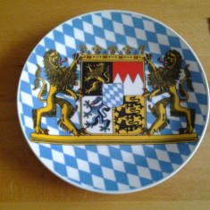 Banernlied farfurie decorativa