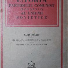 ISTORIA PARTIDULUI COMUNIST ( BOLSEVIC ) AL UNIUNII SOVIETICE - COMISIUNEA C . C . AL P . C . ( B ) AL U . S .