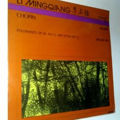 Disc vinil / vinyl - Chopin Recital Li Mingqiang - Electrecord - Muzica Clasica