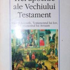TREI APOCRIFE ALE VECHIULUI TESTAMENT - *** - Carti Istoria bisericii, Polirom