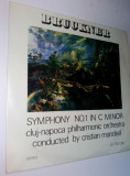 Disc vinil / vinyl -BRUCKNER Symphony no. 1 in c minor - Electrecord