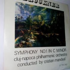 Disc vinil / vinyl -BRUCKNER Symphony no. 1 in c minor - Electrecord - Muzica Clasica