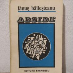 ABSIDE -FANUS BAILESTEANU - Eseu