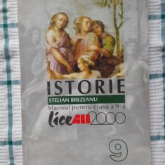 Stelian Brezeanu - Istorie. Manual pentru clasa a 9-a, All Educational, 2000 - Manual scolar all, Clasa 9