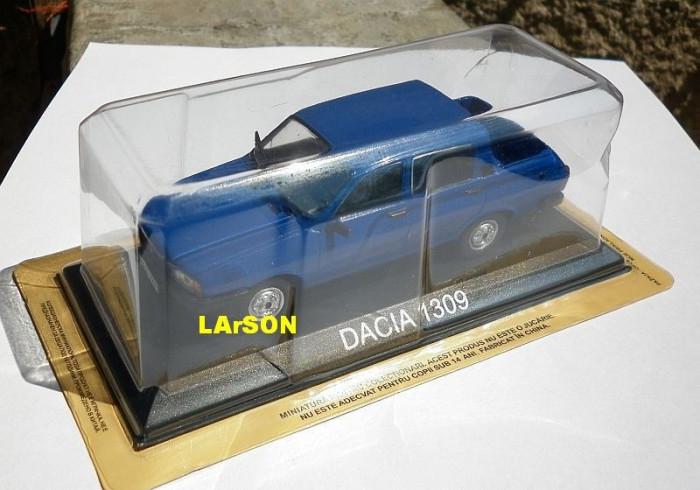 Macheta Dacia 1309 + revista DeAgostini Masini de Legenda nr.21