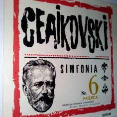 Disc vinil / vinyl - Ceaikovski Simfonia Nr. 6 Patetica - Electrecord