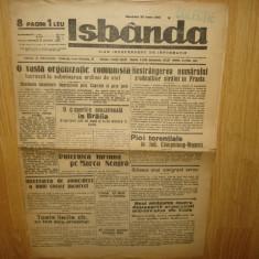 ZIAR DE COLECTIE - ISBANDA ANUL 1935