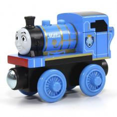 Locomotiva Millie, Thomas si prietenii sai, seria Wooden - Trenulet Fisher Price, 2-4 ani, Lemn, Unisex