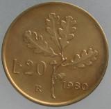 ITALIA KM#97.2 - 20 Lire 1980, Europa