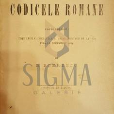 B. BOERESCU - CODICELE ROMANE, ALU DUOILEA SUPLIMENTU