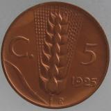 ITALIA KM#59 - 5 Centesimi 1925