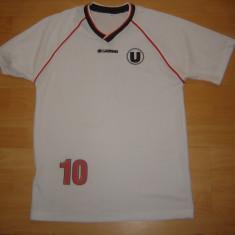 Tricou Fotbal Universitatea Cluj-Napoca U Cluj nr.10 marimea S - Set echipament fotbal
